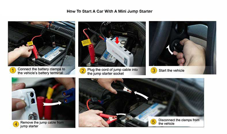 How to start a flat car battery