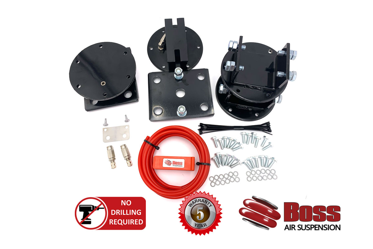 BT50 and Ford ranger load assist