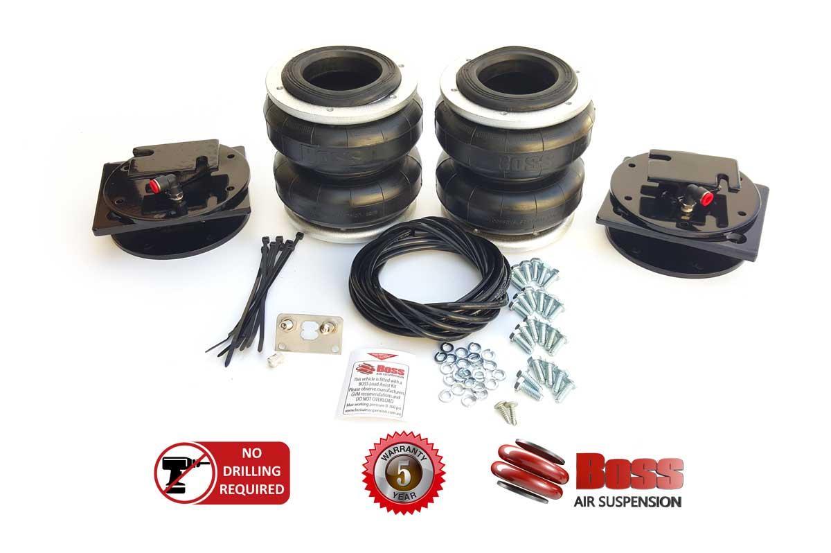 Air Bag Suspension Kits >> Load Assist Airbag Suspension Kits Boss Air Suspension