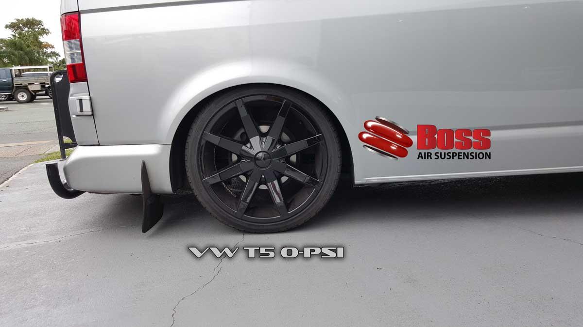 VW T5 Van Air Suspension