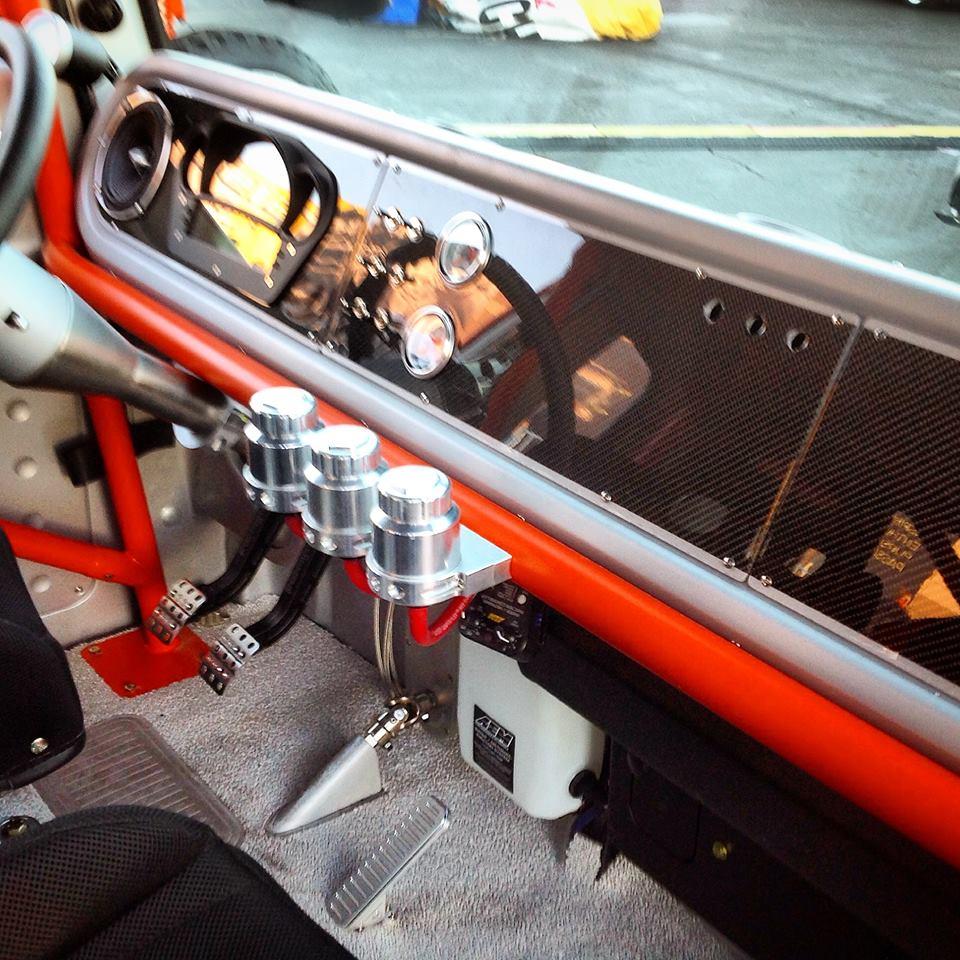 SEMA Show Truck Interior