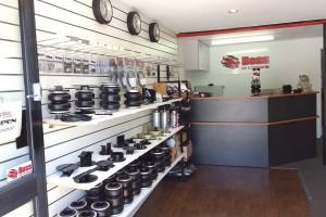 Boss old location showroom