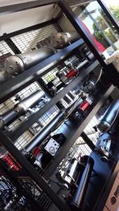 Boss air suspension showrrom