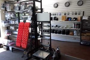 Boss air suspension display
