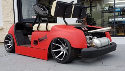 boss golf buggy