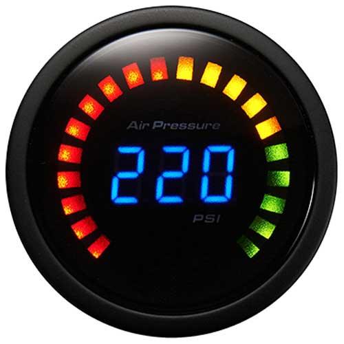 Single Digital Air Pressure Gauge