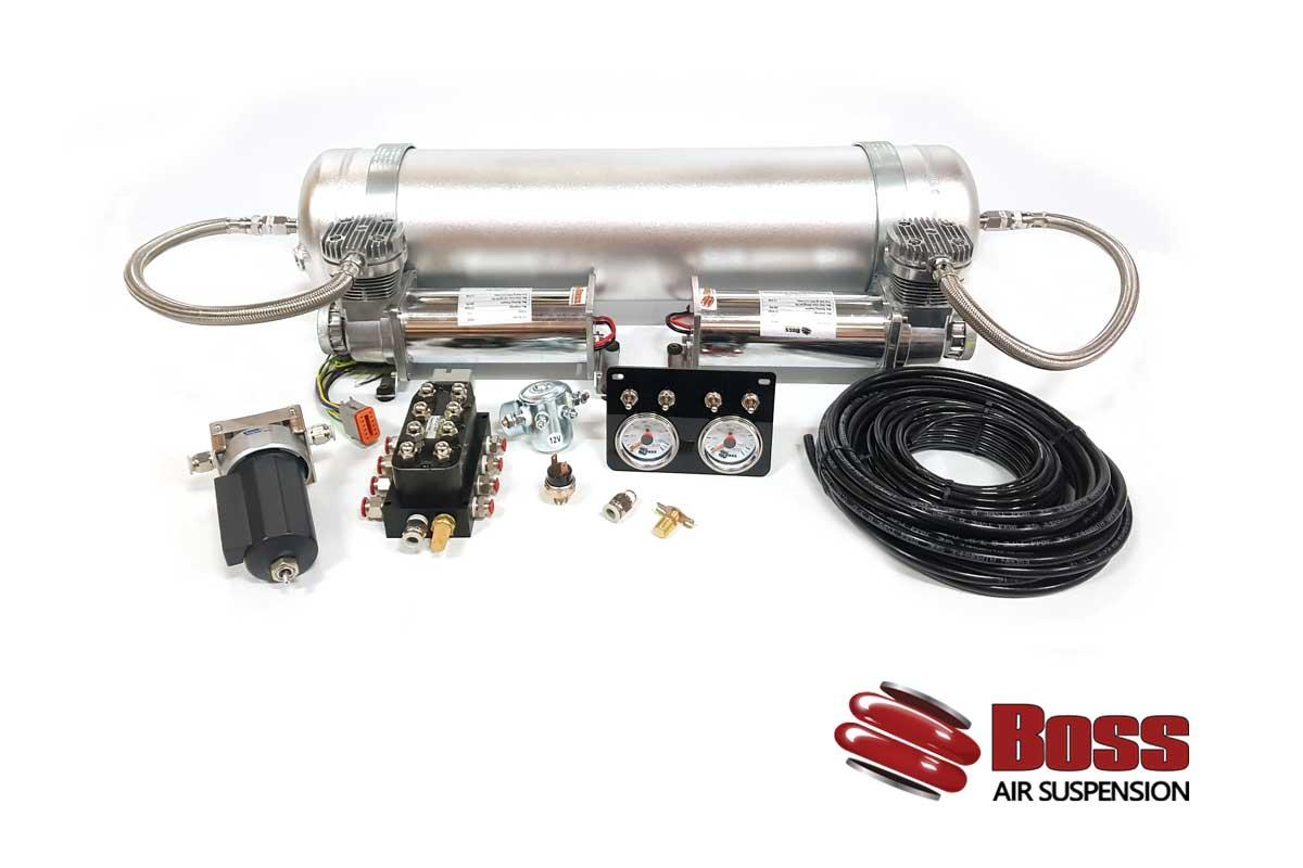 Twin Compressor Air System