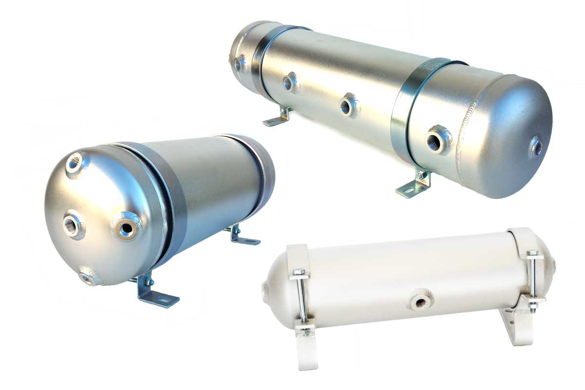 Aluminium airtanks