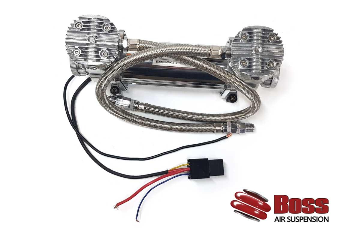 Twin Head 12v Air Compressor