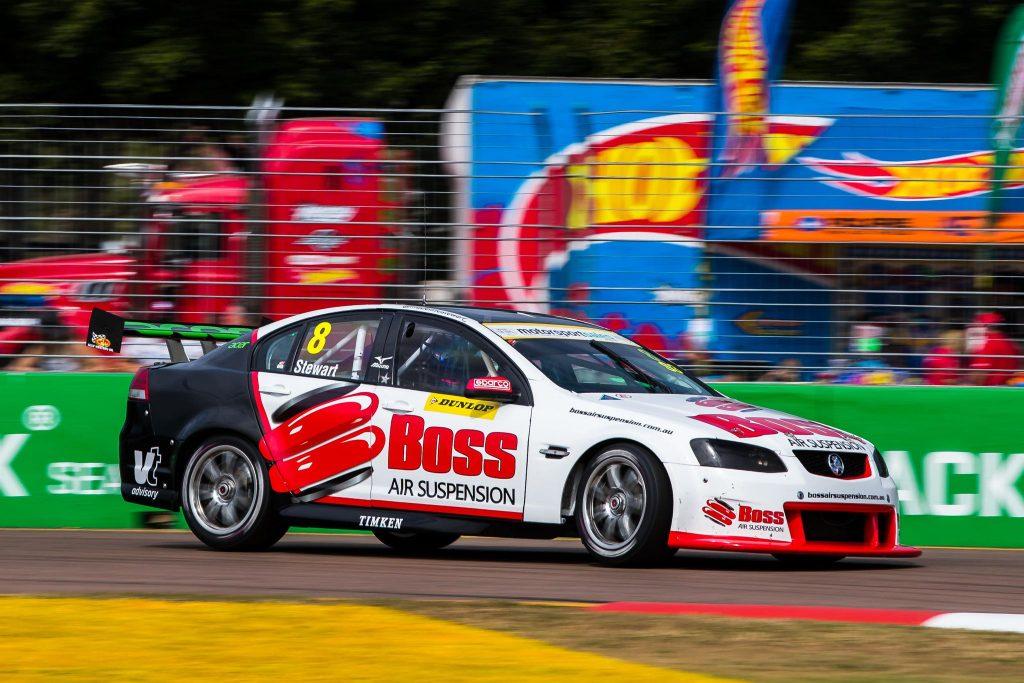 Boss Air Suspension race car