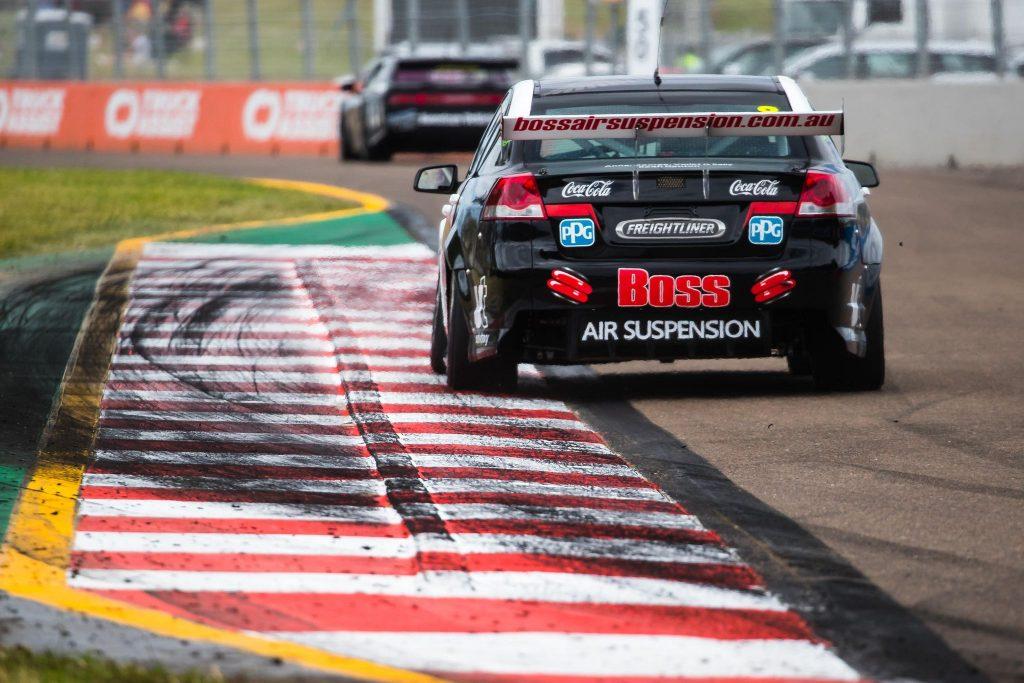 Black race car - Boss Air Suspension